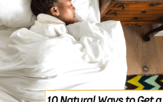 10 Natural Ways to Get a Better Night's Sleep - Everything Abode