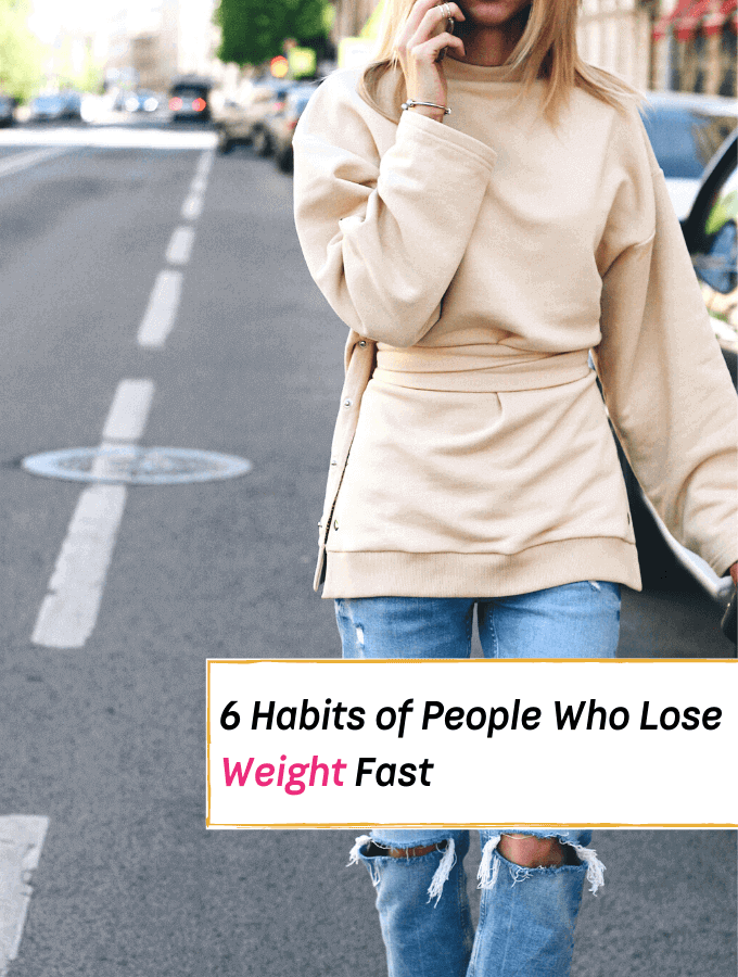 6 Habits of People Who Lose Weight Fast -- Everything Abode