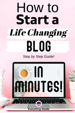 Learn how to start a blog on your own with this free blog guide