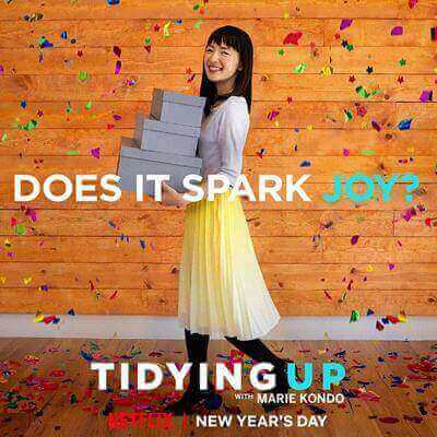 Inspiration for your home Tidying Up with Marie Kondo Netflix series - Everything Abode