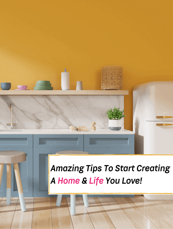 Start Creating A Home & Life You Love - Newsletter SignUp - Everything Abode