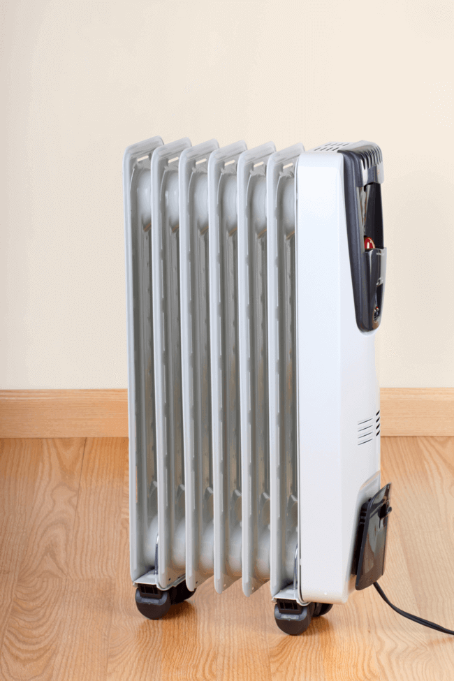 Space heaters should be banned from your bedroom