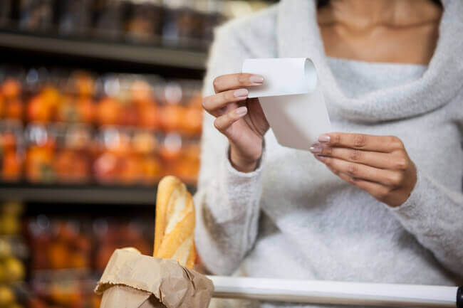 Look closely at your grocery bill to save money on groceries each month - Everything Abode