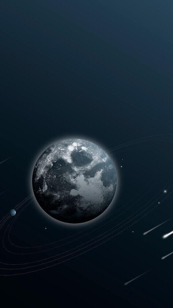 earth aesthetic style wallpaper, dark black wallpaper, mobile backgrounds