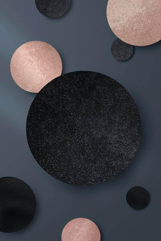 Rose gold black background for iphone, iphone wallpaper, dark phone wallpaper