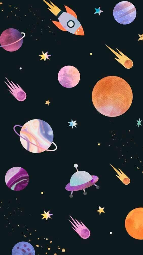 dark phone background, mood galaxy iphone wallpaper