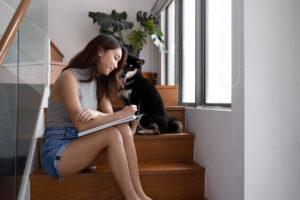 pet sitting indoor hobby, unique hobbies for women