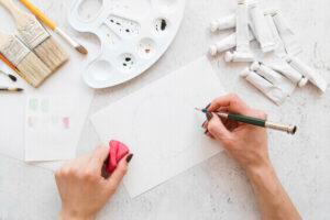 pen art for indoor hobby