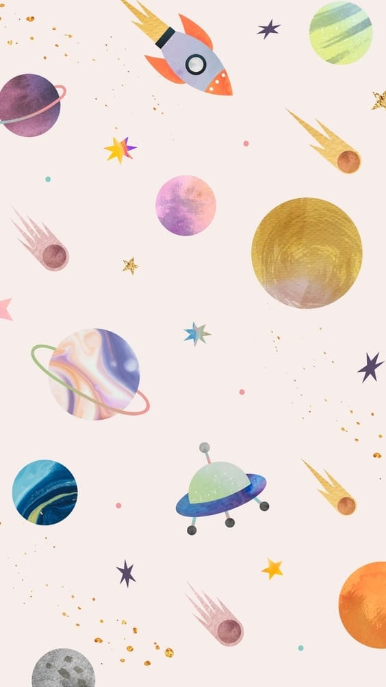 galaxy cute wallpaper for mobile