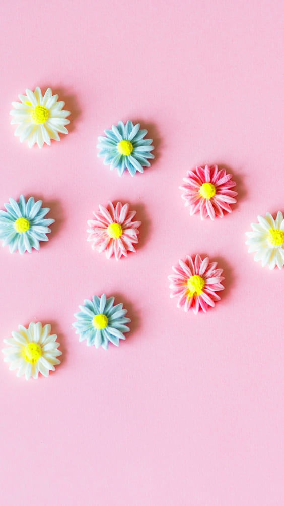 pink background cute wallpaper candy