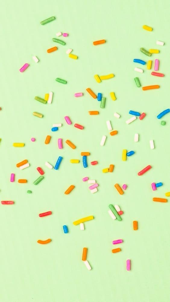 Candy sprinkles cute wallpaper