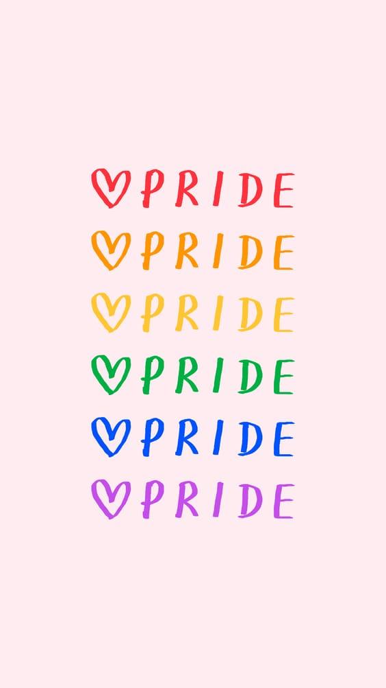 pride cutest wallpaper pink background