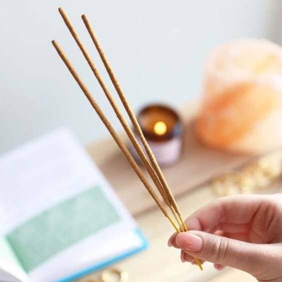 burn incense to have a great smelling home