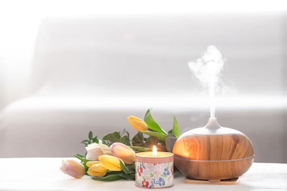 how a diffuser makes your home smell good