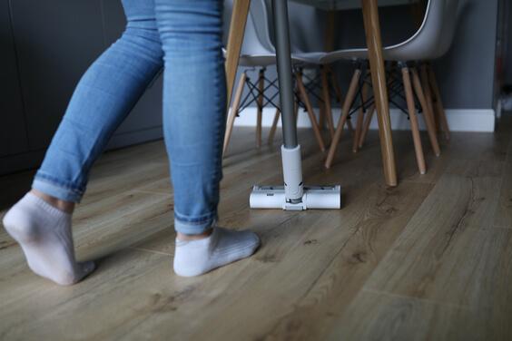 wash hardwood floors for good home smell