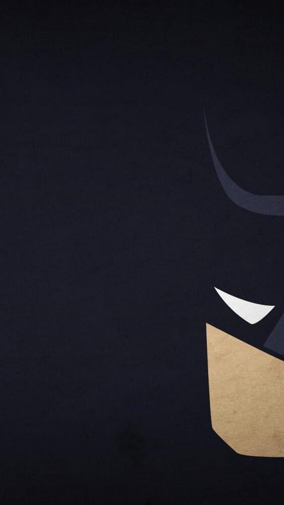 dark black batman illustration wallpaper